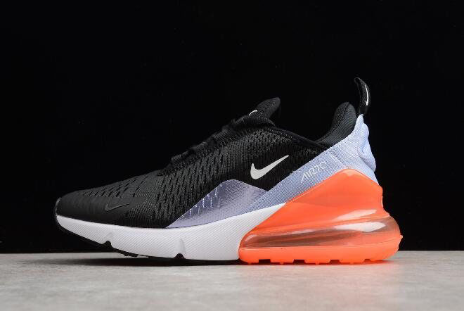 Nike WMNS Air Max 270 Black/White/Light Purple-Orange 943346-004