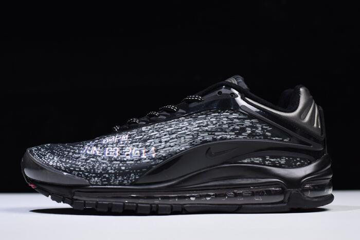 the best attitude e2310 0c56c Skepta x Nike Air Max Deluxe Black/Deep Red AQ9945-001, Nike ...