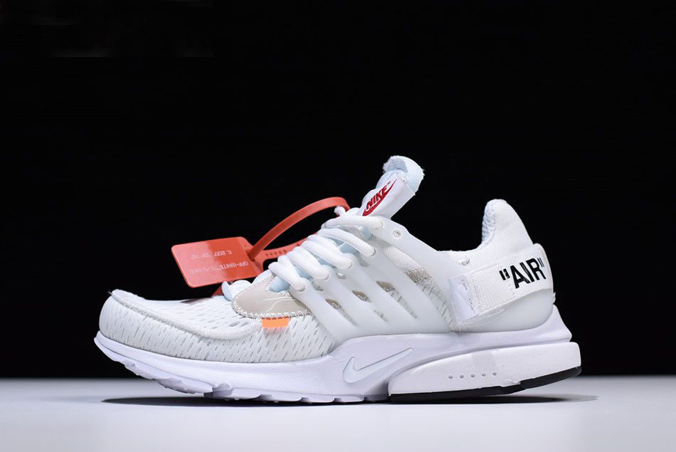 quality design 7770d 4736e 2018 Off-White x Nike Air Presto in White AA3830-100 Free Shipping