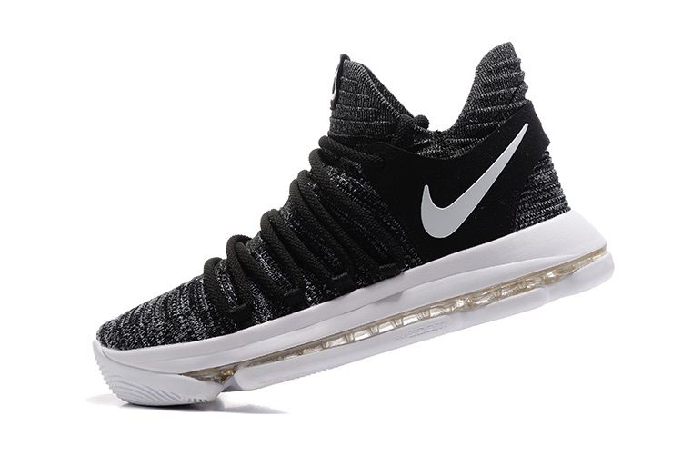 best sneakers 14678 6dde1 Nike KD 10 Oreo BlackWhite Mens Basketball Shoes 897815-001