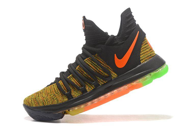 1a5a0f2b8fe3 Nike KD 10 Peach Jam EYBL PE Men s Basketball Shoes