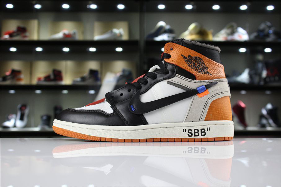 OFF-WHITE x Air Jordan 1 Retro High OG 10X Shattered Backboard AA3834-005