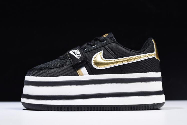 Nike WMNS Vandal 2K Black/Metallic Gold AO2868-002 On Sale