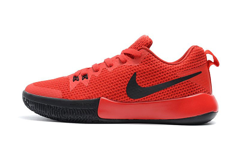 Nike Zoom Live II EP University Red/Black Men's Basketball Shoes