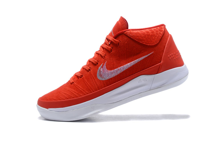 Nike Kobe A.D. Mid EP Red White Men's Basketball Shoes
