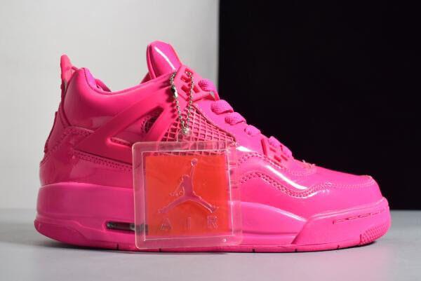 sale retailer bf3ff 2284c Women s Air Jordan 4 Retro GS 11Lab4 Pink Patent Leather For Sale