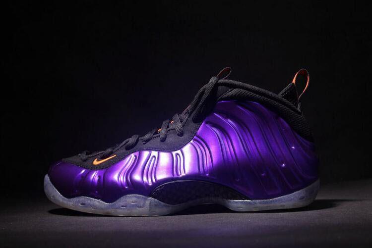 save off 9b5a3 18c96 Nike Air Foamposite One Phoenix Suns Electro Purple Total Orange-Black  314996-501